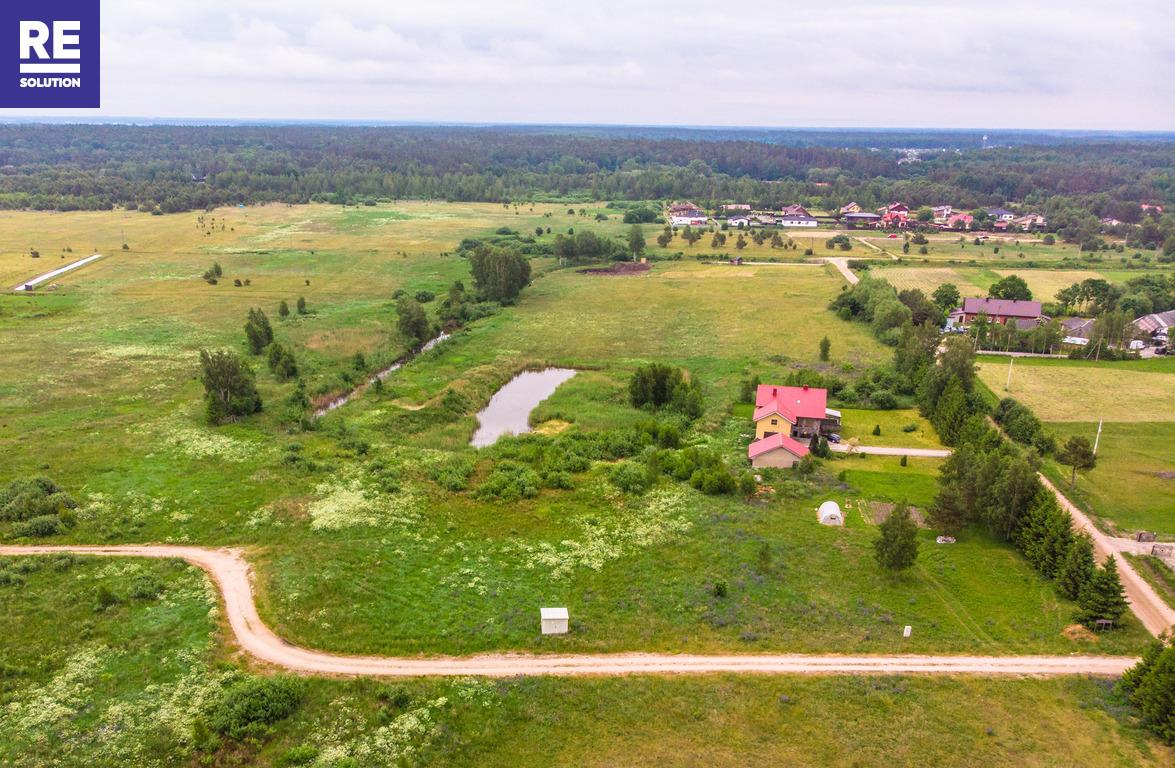 18 a sklypas Ketvergių k. netoli tvenkinio, su leidimu statyti 140 kv.m gyv. namą nuotrauka nr. 3