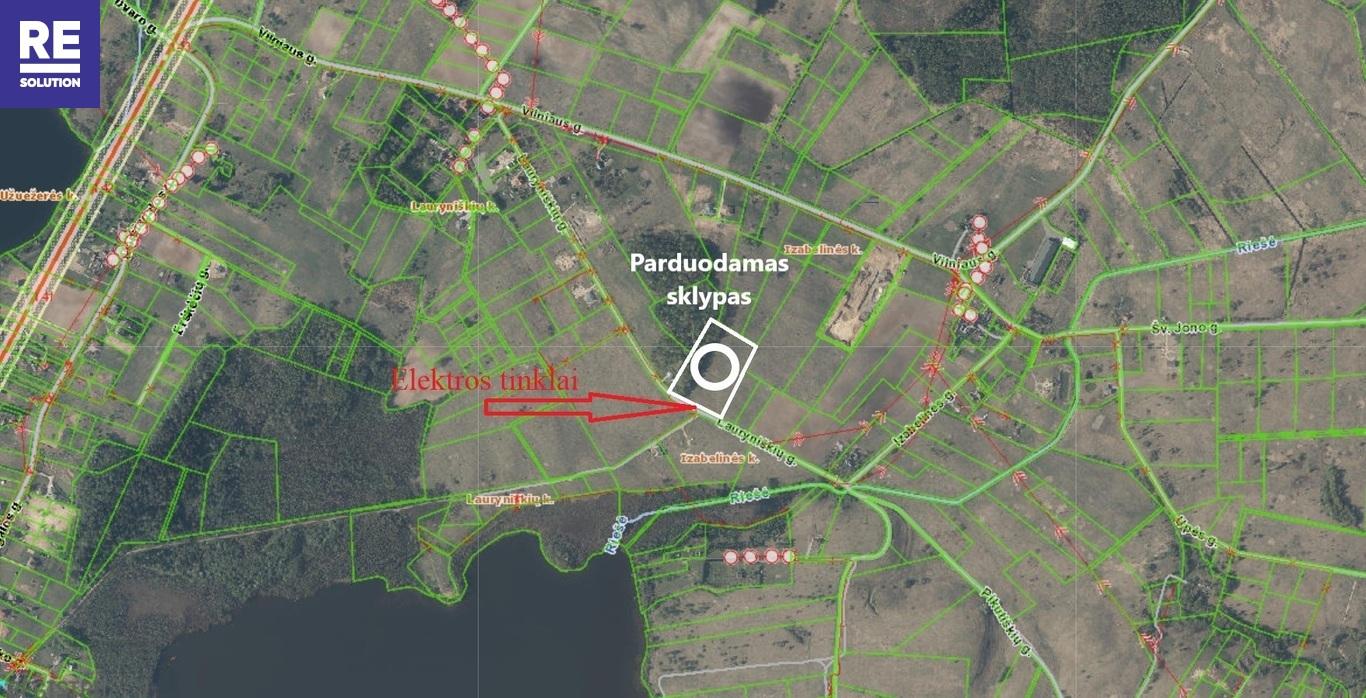 Parduodamas 2,37 ha ploto sklypas Izabelinės k., Vilniaus r. nuotrauka nr. 10