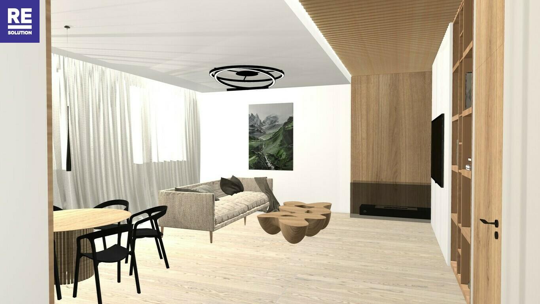 Parduodamas 5 kambarių butas A. Vienuolio g., Senamiestyje, Vilniuje! nuotrauka nr. 2