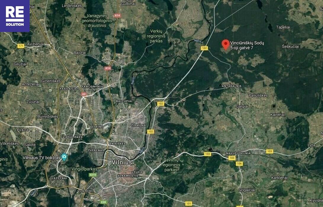 Parduodamas išpuoselėtas 9 arų sklypas Vinciūniškių Sodų 5-oji g., Vilniuje nuotrauka nr. 22