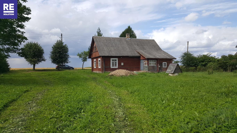 Parduodamas namas Prienų k., 63.1 kv.m ploto su 28 a. sklypu nuotrauka nr. 1
