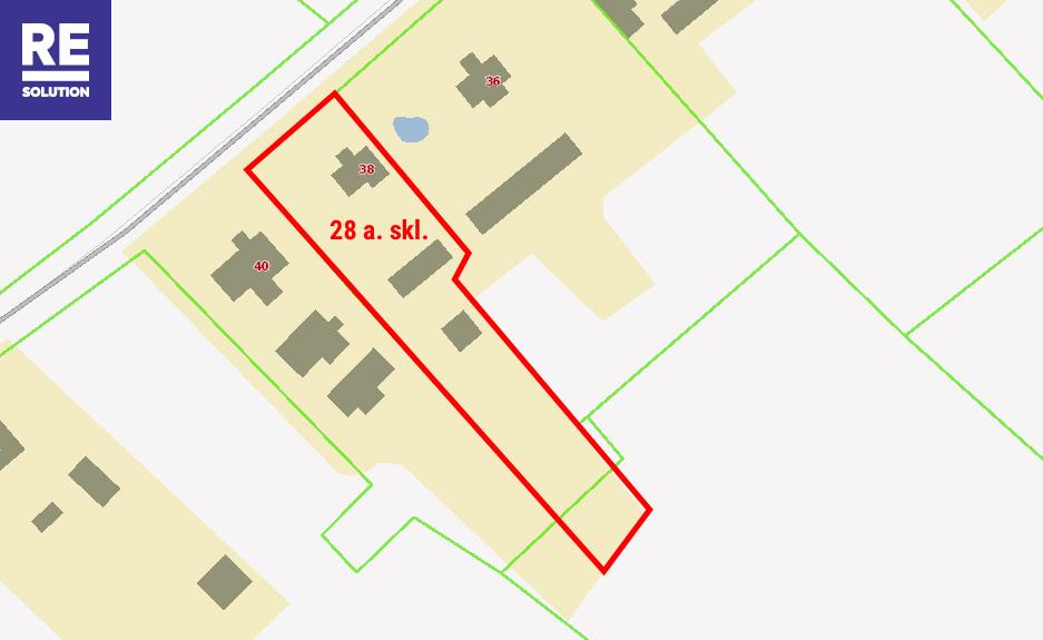 Parduodamas namas Prienų k., 63.1 kv.m ploto su 28 a. sklypu nuotrauka nr. 20