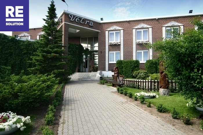 Nuomojamas 1069,31 kv.m pastatas viešbučio, medicinos įstaigos ar kitai paslaugų veiklai