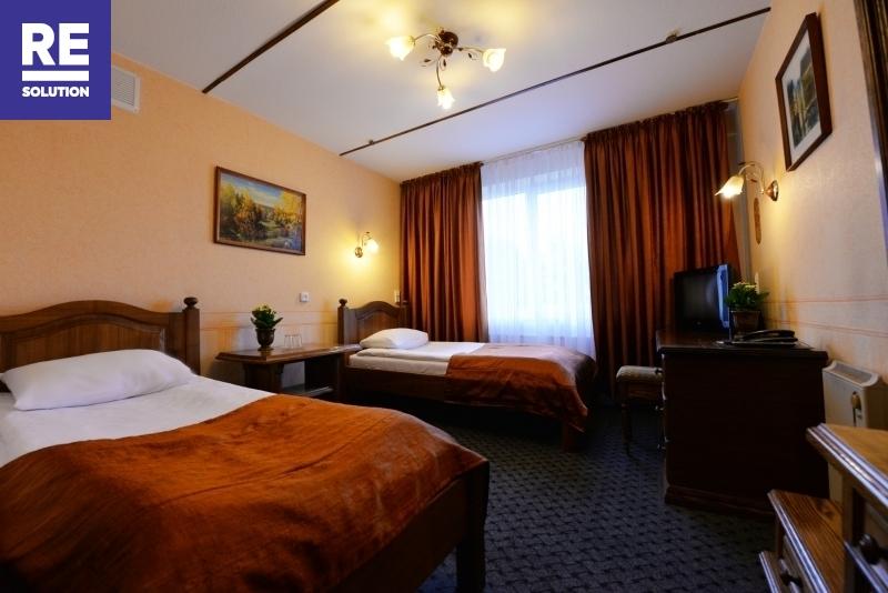 Nuomojamas 1069,31 kv.m pastatas viešbučio, medicinos įstaigos ar kitai paslaugų veiklai nuotrauka nr. 9