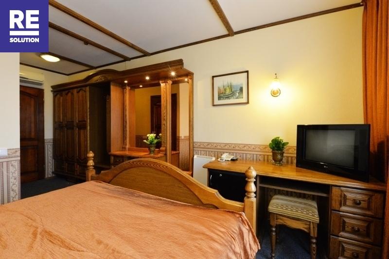Nuomojamas 1069,31 kv.m pastatas viešbučio, medicinos įstaigos ar kitai paslaugų veiklai nuotrauka nr. 12