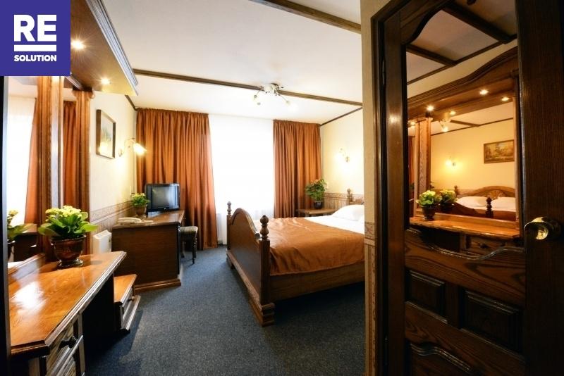Nuomojamas 1069,31 kv.m pastatas viešbučio, medicinos įstaigos ar kitai paslaugų veiklai nuotrauka nr. 13