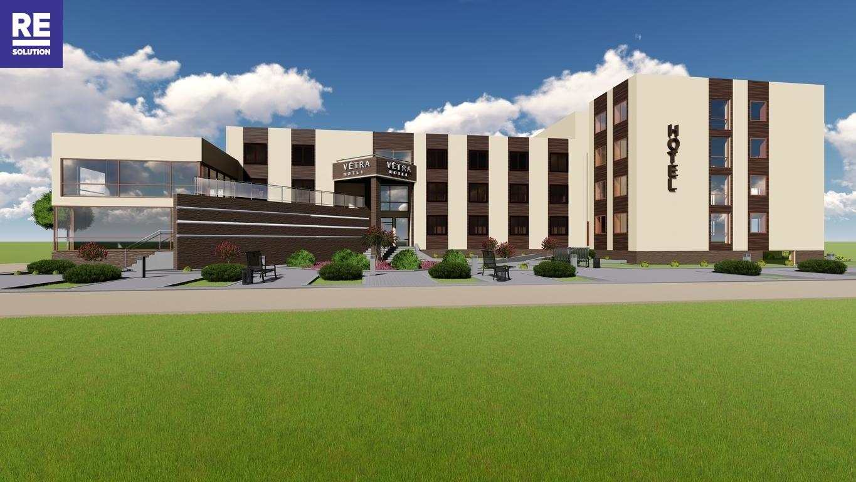 Nuomojamas 1069,31 kv.m pastatas viešbučio, medicinos įstaigos ar kitai paslaugų veiklai nuotrauka nr. 16