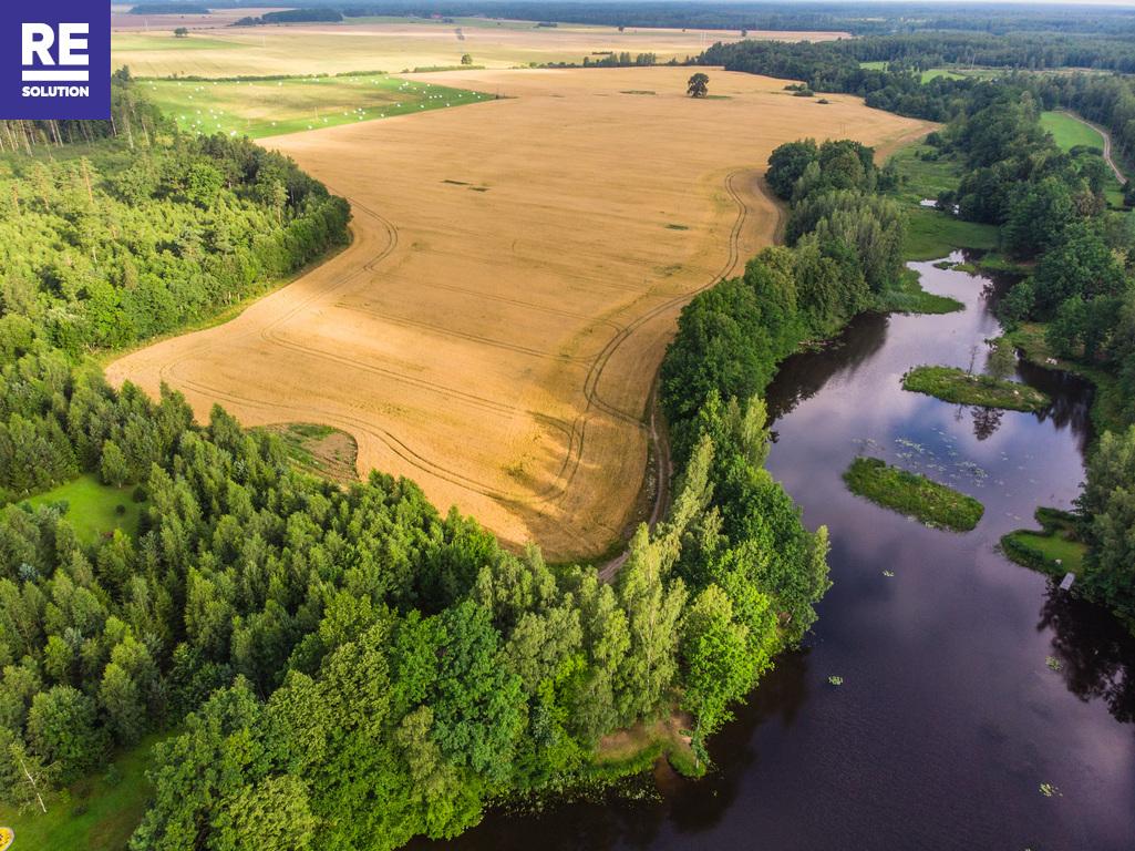 21,73 ha sklypas šalia tvenkinio, netoli automagistralės Klaipėda-Kaunas