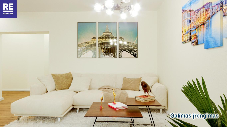 Parduodamas 3-jų kambarių butas Antakalnyje, 67 kv.m ploto nuotrauka nr. 5