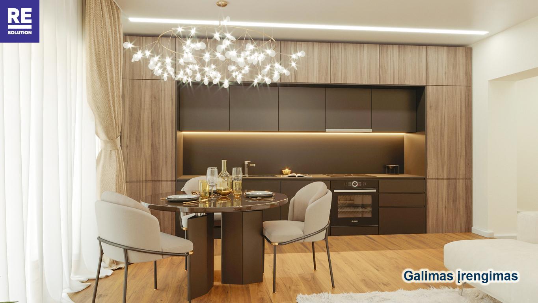 Parduodamas 3-jų kambarių butas Antakalnyje, 67 kv.m ploto nuotrauka nr. 4