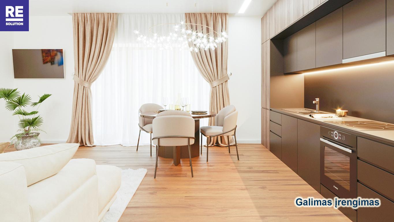 Parduodamas 3-jų kambarių butas Antakalnyje, 67 kv.m ploto nuotrauka nr. 3