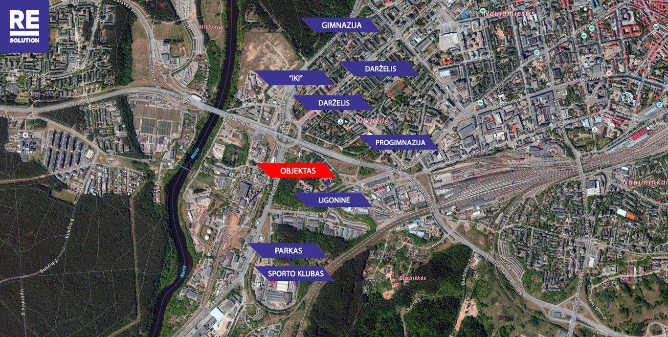 Parduodamas butas Vilkpėdės g., Naujamiestyje, Vilniuje, 57.57 kv.m ploto nuotrauka nr. 22