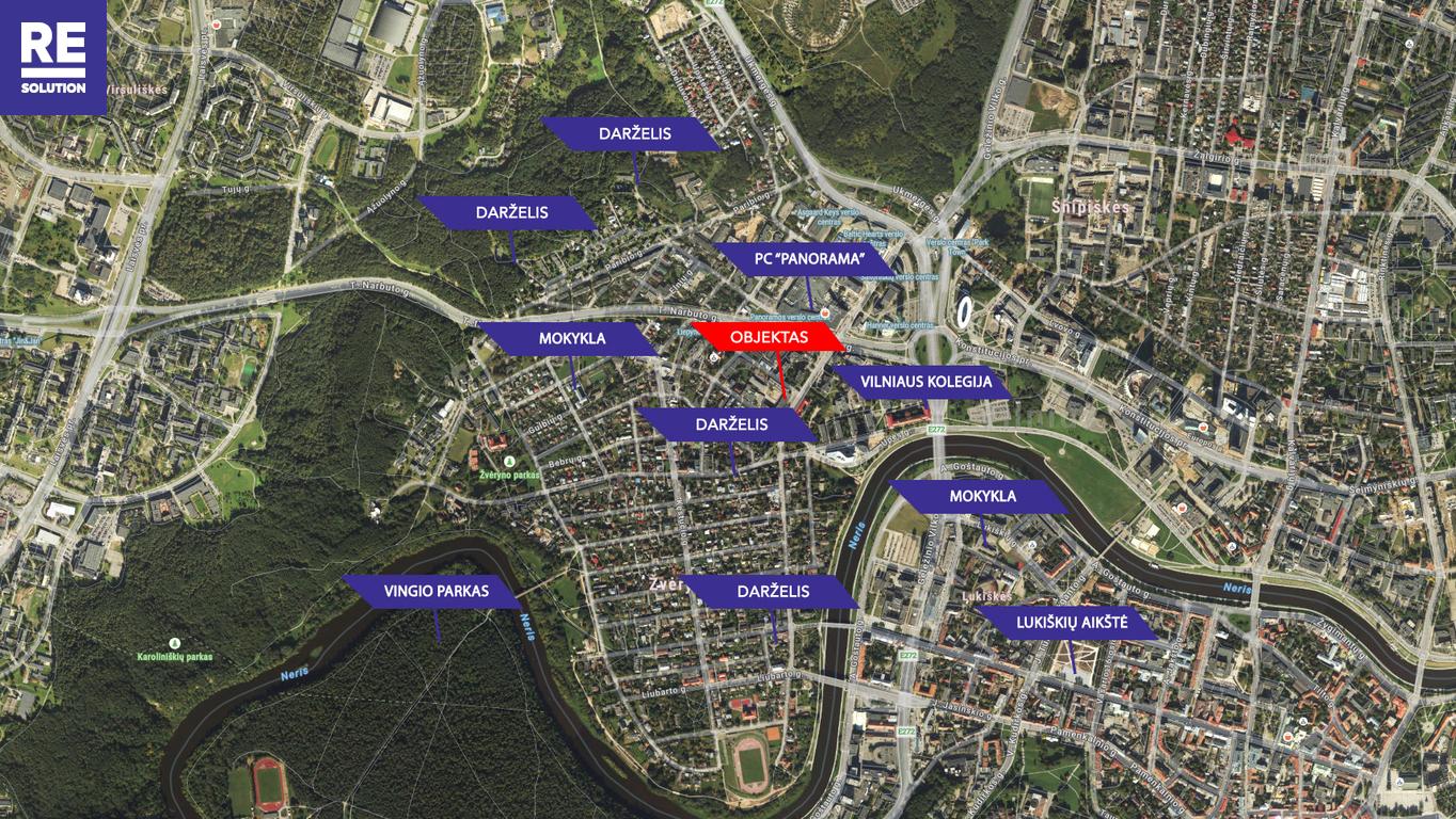 Parduodamas butas Saltoniškių g., Žvėryne, Vilniuje, 321.21 kv.m ploto, 5 kambariai nuotrauka nr. 21