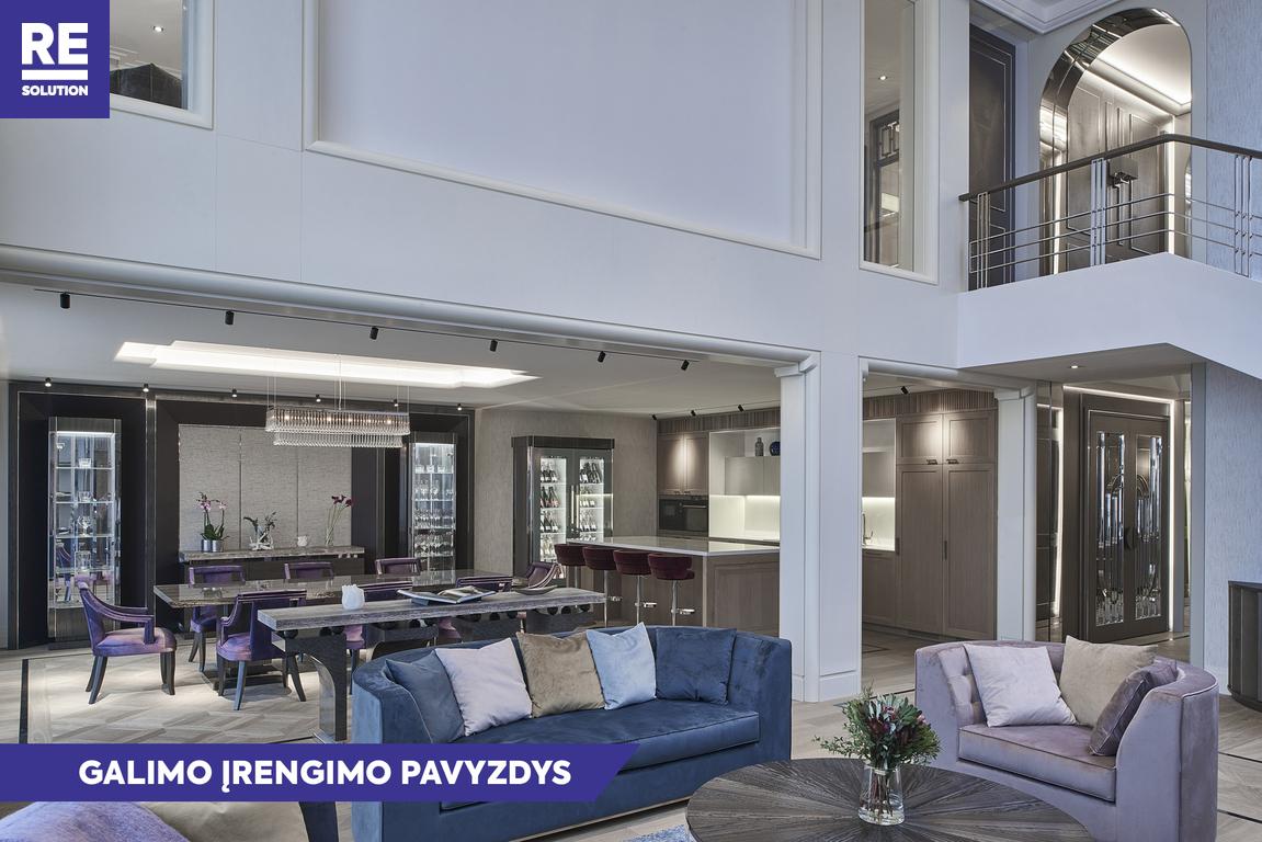 Parduodamas butas Saltoniškių g., Žvėryne, Vilniuje, 228.65 kv.m ploto, 5 kambariai nuotrauka nr. 2