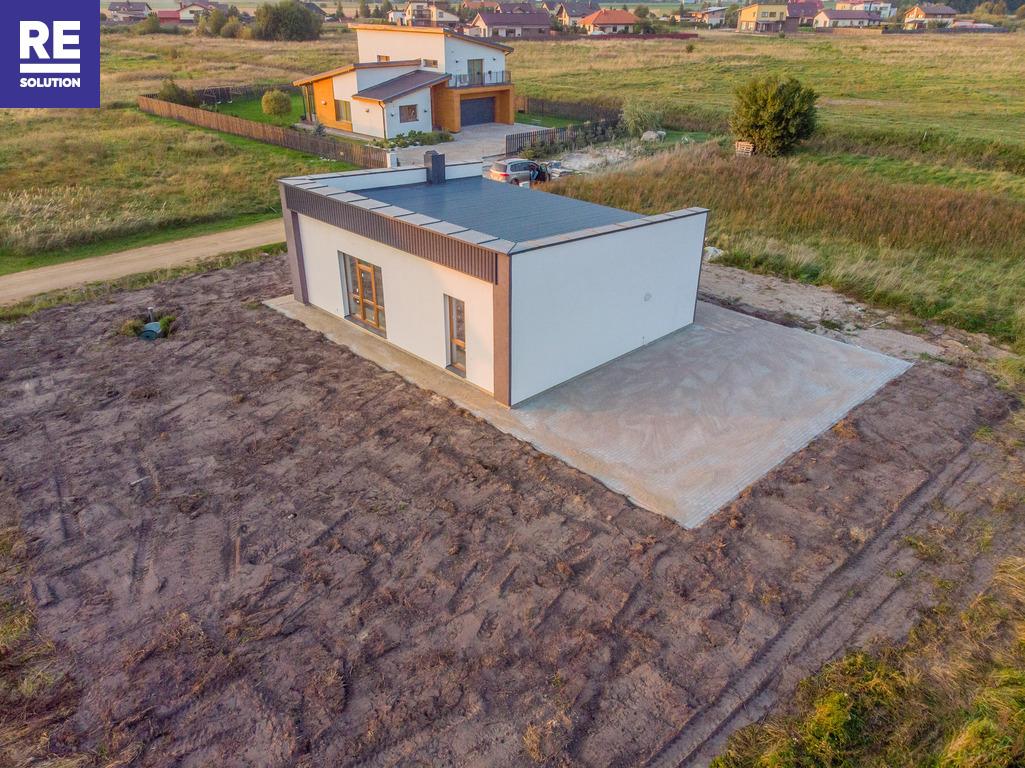 Naujas 75,80 kv.m namas su daline apdaila naujame kvartale Šlapšilės k., Klaipėdos raj.