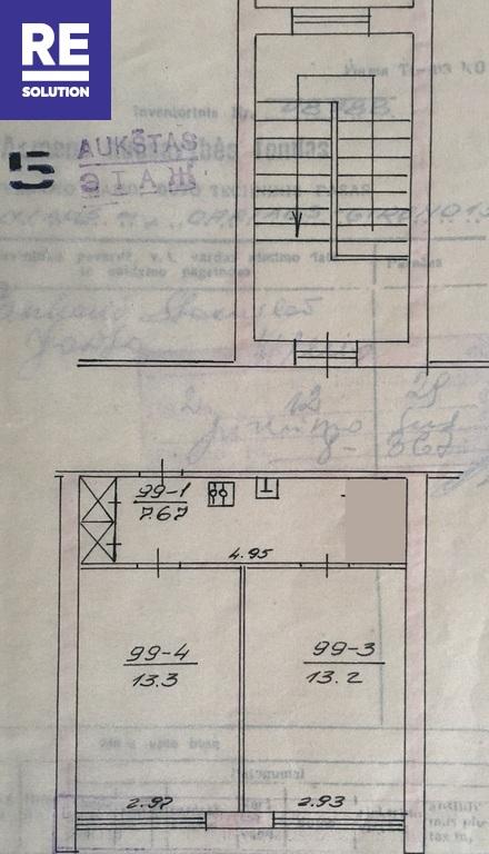 Parduodamas tvarkingas 2 kambarių butas Dariaus ir Girėno g., Vilniuje nuotrauka nr. 14
