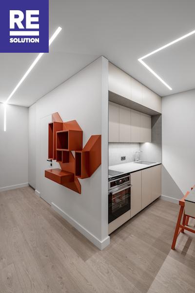 Nuomojamas butas Labdarių g., Senamiestyje, Vilniuje, 42.86 kv.m ploto nuotrauka nr. 2