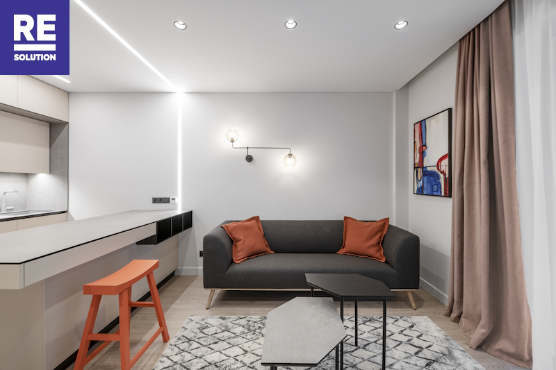 Nuomojamas butas Labdarių g., Senamiestyje, Vilniuje, 42.86 kv.m ploto nuotrauka nr. 10
